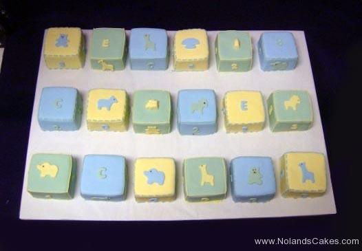 485, square, blocks, child, baby, pastel, blue, green, yellow, elephant, giraffe, carved