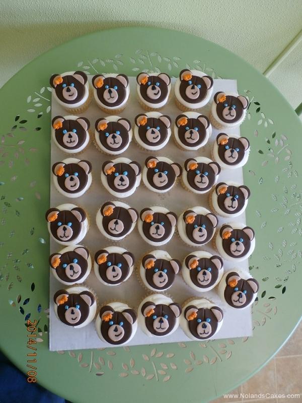 529, bears, brown, orange, bow, ribbon, white, cute, girl, girly, animal