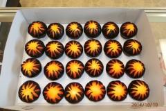 526, orange, yellow, brown, sun, star, explosion