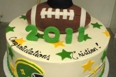 2882, football, cap, topper, green, yellow, helmet, stars, white
