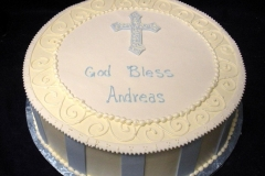 609, blue, stripes, boy, baby boy, first communion, white, communion, cross, simple