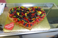 3096, anniversary, strudel, fruit strudel, heart