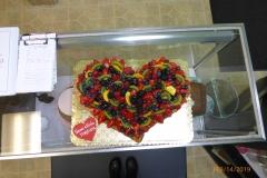 3095, anniversary, strudel, fruit strudel, heart
