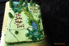3233, 48th birthday, forty eighth birthday, john muir trail, map, national park, parks, tree, trees