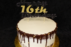 3397, 16th birthday, sixteenth birthday, black, gold, drizzle, naked, white
