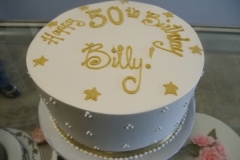 259, 50th birthday, fiftieth birthday, gold, white, star, stars