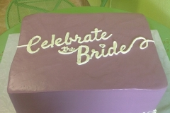335, bridal, bride, celebrate the bride, purple, square, simple