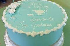 361, blue, tea, tea pot, tea party, white, roses, lace, bride to be