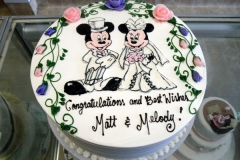 2376, bridal shower, mickey mouse, minnie mouse, flower, flowers, mickey, minnie, white, pink, purple