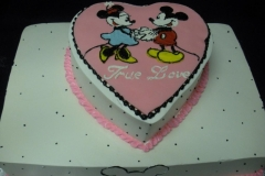 460, heart, heart shaped, minnie, minnie mouse, mickey mouse, mickey, pink, blue, red, yellow, black, white, dots, true love