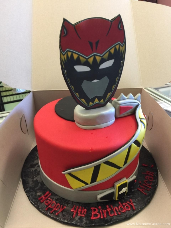2050, fourth birthday, 4th birthday, power rangers, red, red dino ranger, yellow, black