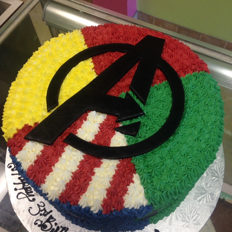 2042, 3rd birthday, third birthday, avengers, superhero, superheros, captain america, hulk, thor, ironman, blue, red, yellow, green, black, marvel