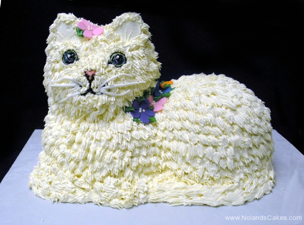 2068, birthday, cat, kitten, kitty, flower, flowers, white, carved