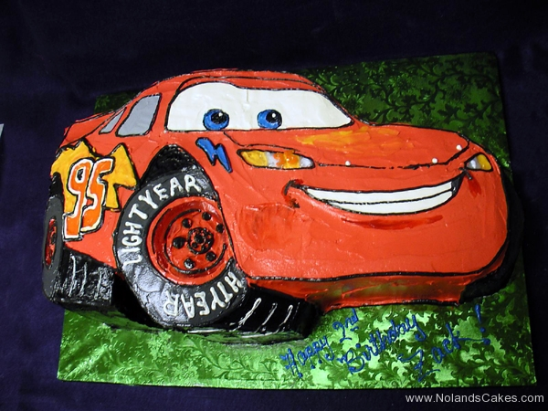 2091, birthday, lightning mcqueen, cars, car, red, race, racecar, carved