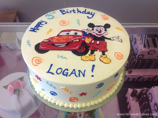 2140, 3rd birthday, third birthday, cars, disney, mickey mouse, red, blue