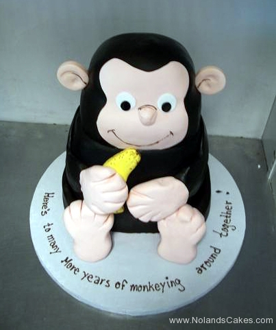 2182, birthday, monkey, curious george, banana, carved