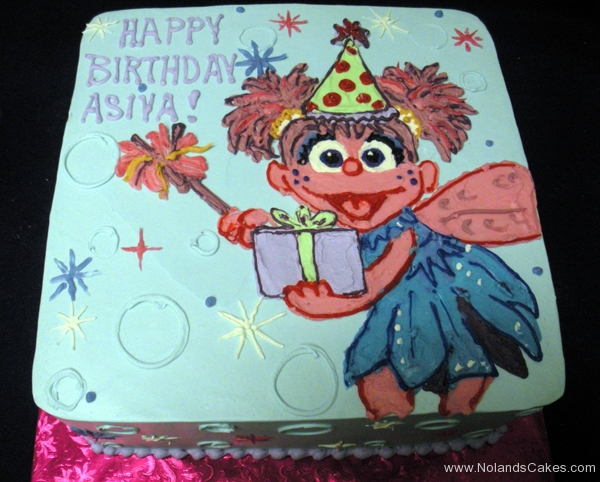 2205, birthday, muppets, muppet, abby cadabby, bubble, bubbles, sparkle, wings, fairy, blue, pink