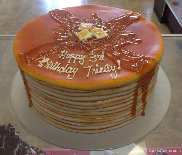 2234, third birthday, 3rd birthday, pancakes, stack pancake