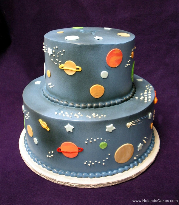 2268, birthday, planet, planets, outer space, space, the final frontier, star, stars, blue, black, yellow, orange, tiered