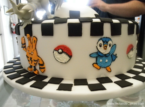 2276, 7th birthday, seventh birthday, pokemon, pokemon go, figures, black, white, carved