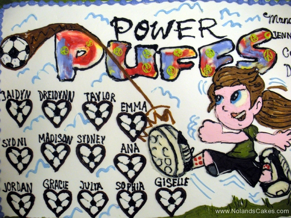 2286, power puffs, soccer, soccer ball, girls, team, sport, sports