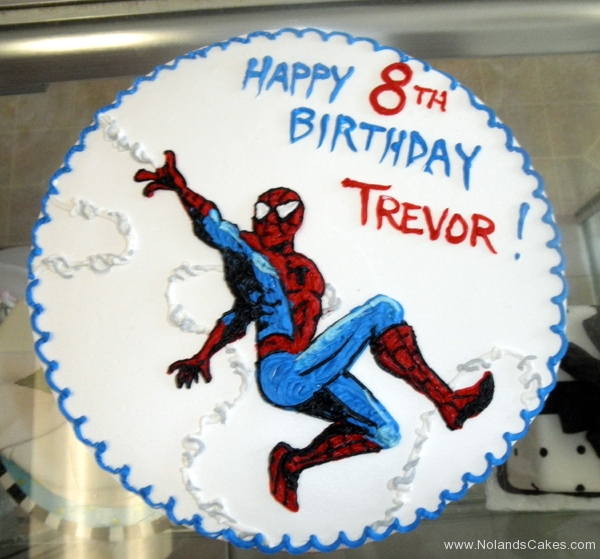 2360, 8th birthday, eighth birthday, spiderman, marvel, superhero, superheroes, blue, white, red