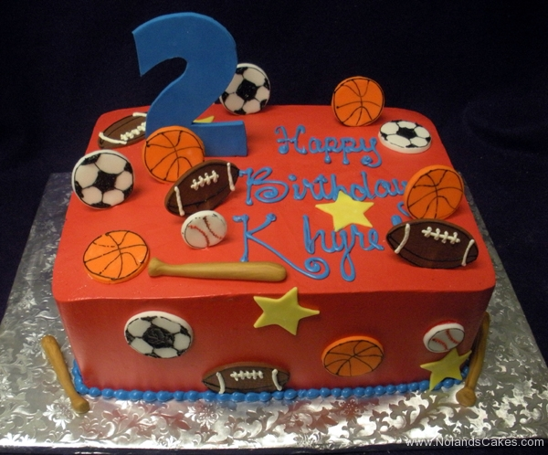 2369, second birthday, 2nd birthday, sports, football, baseball, soccer, basketball, star, stars, red, blue