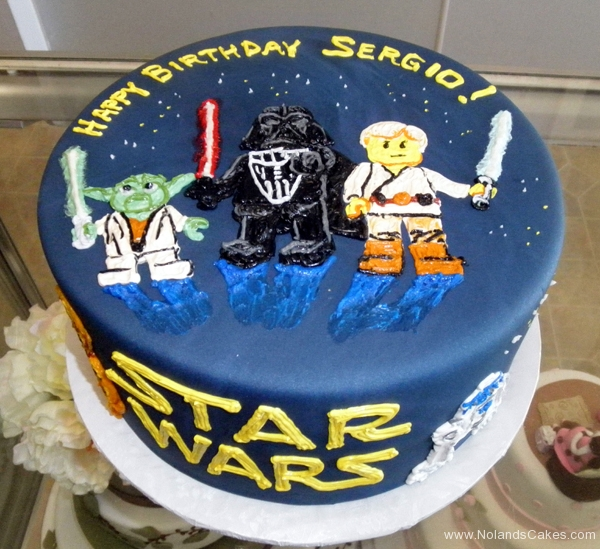 2403, birthday, star wars, lego star wars, luke, darth vader, yoda, c3po, space, spaceship, spaceships