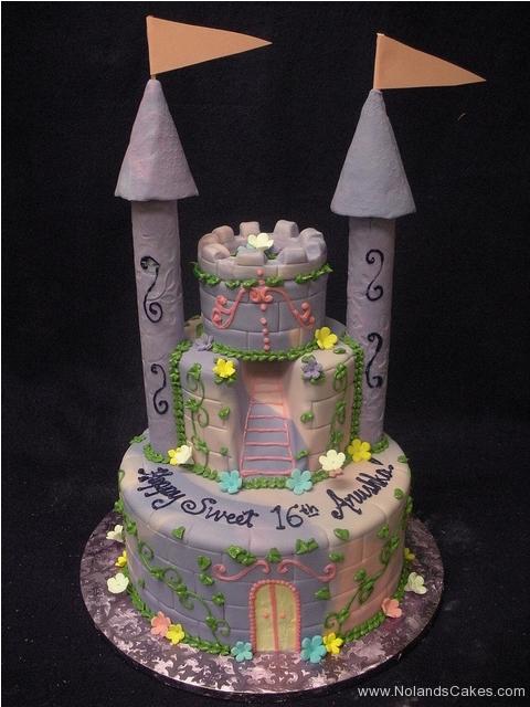 2415, 16th birthday, sixteenth birthday, castle, flowers, flower, princess, sweet sixteen, sweet 16, purple, carved