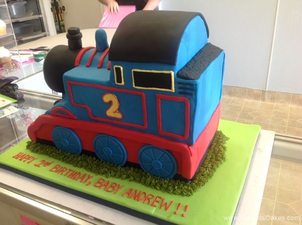 2424, 2nd birthday, second birthday, thomas the tank engine, thomas, train, trains, blue, red, carved