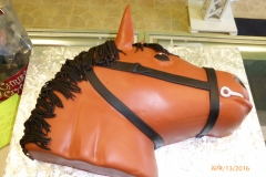 2969, birthday, horse, head, godfather, carved