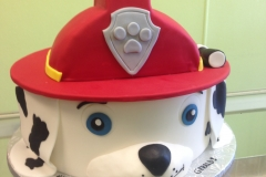 2976, third birthday, 3rd birthday, paw patrol, marshal, fire fighter, red, dog, dalmation