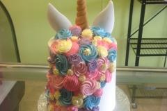 1994, 6th birthday, sixth birthday, unicorn, horn, ears, pastel