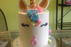 1996, 6th birthday, sixth birthday, unicorn, horn, ears, pastel