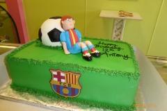 P1000051, 12th birthday, soccer, football, futbol, Futbol Club Barcelona, Barça, figure, grass, green, figure
