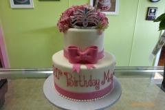 3002, 20th birthday, twentieth birthday, bow, bows, crown, tiara, pink, tiered