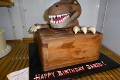 3011, birthday, jurassic park, dinosaur, lost world, brown, wood, figure