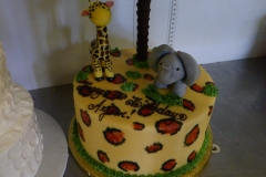 3012, third birthday, 3rd birthday, safari, jungle, animal, elephant, giraffe, leopard spots, tree, trees, figure, figures