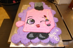 3020, 8th birthday, eighth birthday, pink, purple, cupcake, cupcake mosaic
