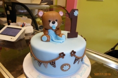 3023, first birthday, 1st birthday, blue, bear, teddy bear, teddy, brown, blankie