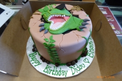 3032, birthday, dino, dinosaur, jurassic park, brown, green