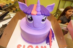 3033, birthday, my little pony, twilight sparkle, unicorn, pony, purple, pink, figure, tiered