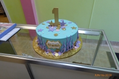 3279, first birthday, 1st birthday, underwater, ocean, sea, beach, shell, shells, blue, gold, purple