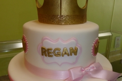 3281, second birthday, 2nd birthday, bow, bows, crown, tiara, pink, gold