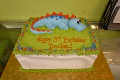 3282, 3rd birthday, third birthday, dino, dinosaur, blue, green, figure