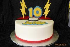 3287, 10th birthday, tenth birthday, pokemon, pokemon go, pokeball, white, red, yellow, lightning