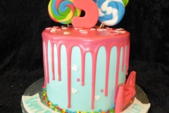 3260, 5th birthday, fifth birthday, drizzle, bow, bows, lollipop, lollipops, pink, swirl
