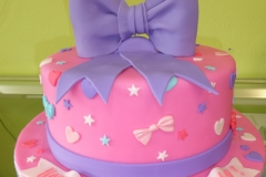 3264, 8th birthday, bow, bows, star, stars, pink, purple, blue