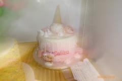 3153, birthday, pony, ice cream, pink, drizzle, white