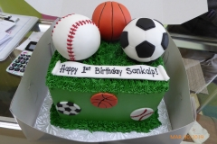 3238, 1st birthday, first birthday, sport, sports, baseball, basketball, soccer, football, futbal, grass, figure, figures